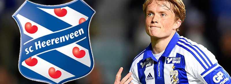 Sam Larsson jagas av Heerenveen