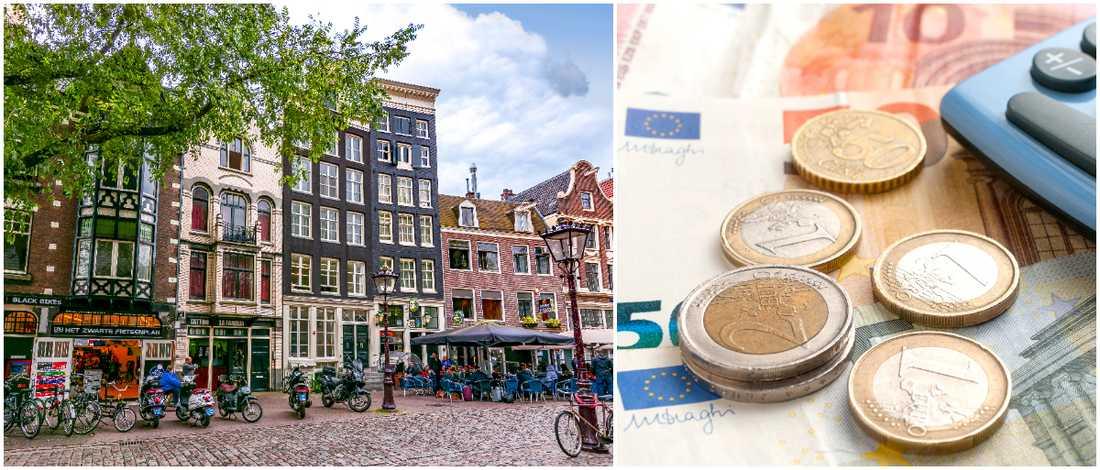 Resan till Amsterdam blir dyrare 2020.