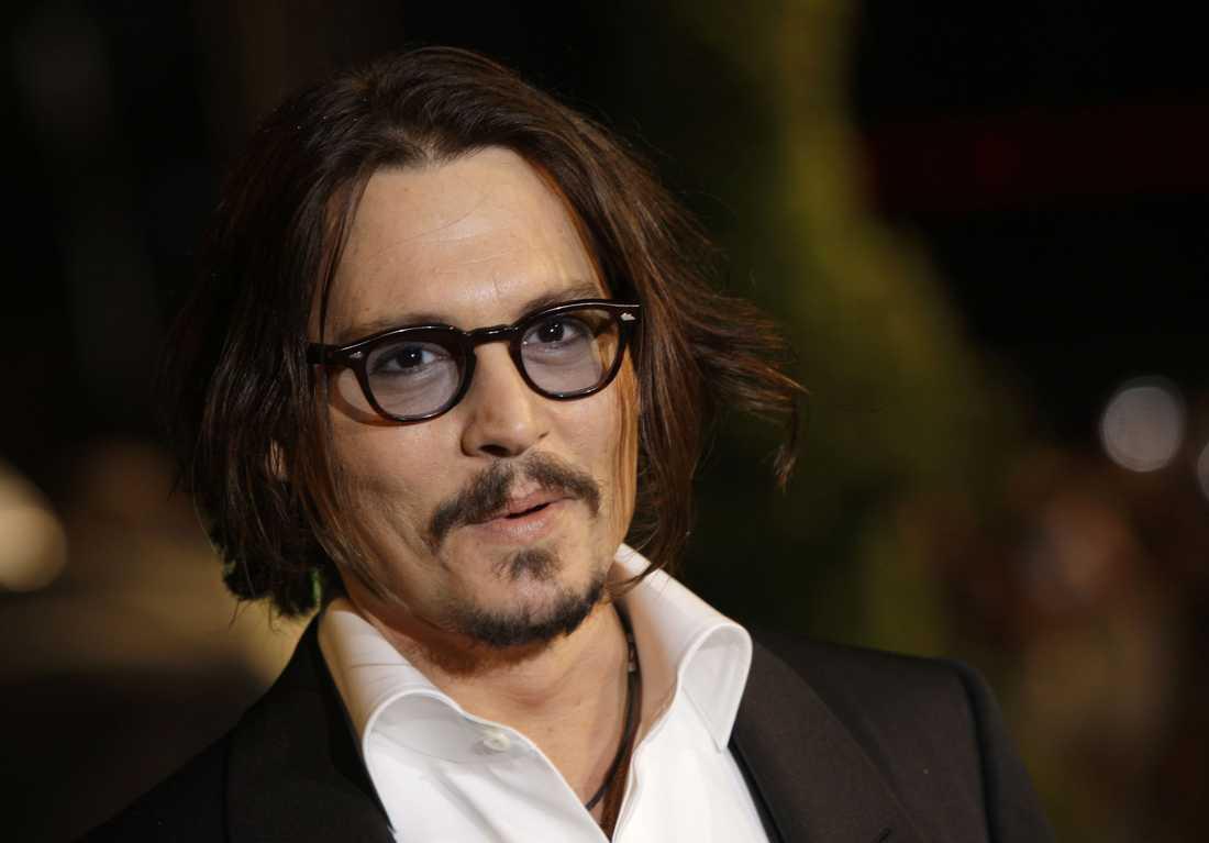 6. Johnny Depp.