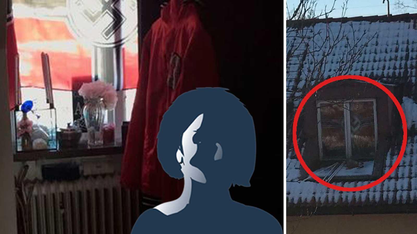 26 Arig Kvinna Hade Flagga Med Hakkors I Fonstret Aftonbladet