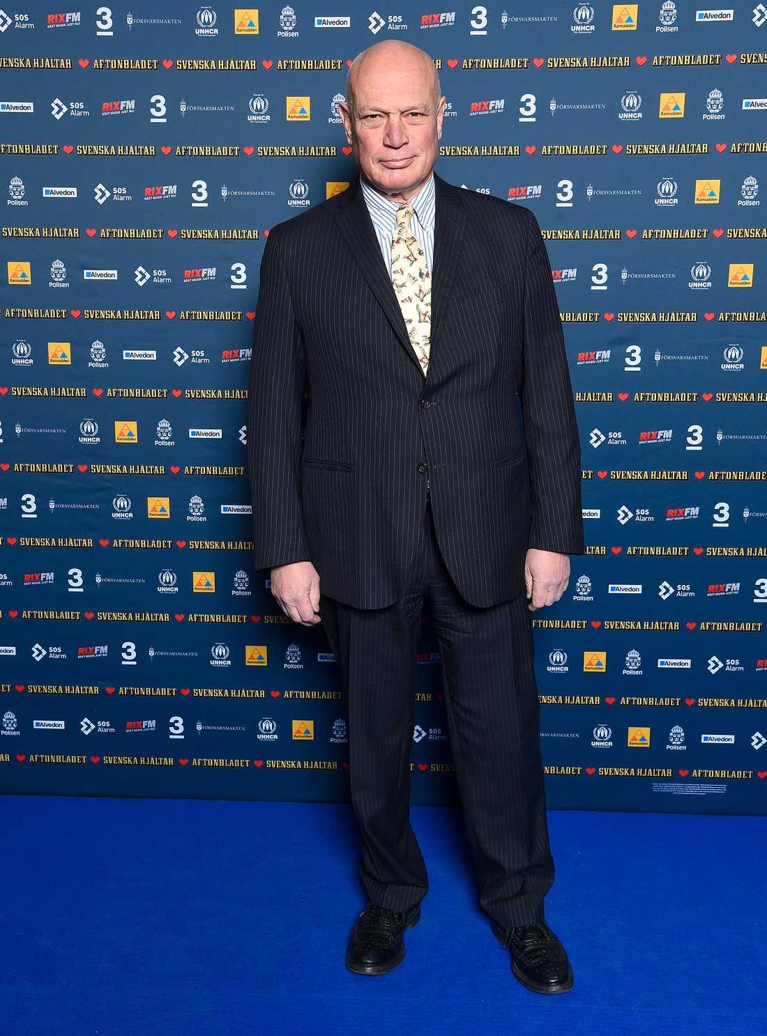 Programledaren Robert Aschberg.