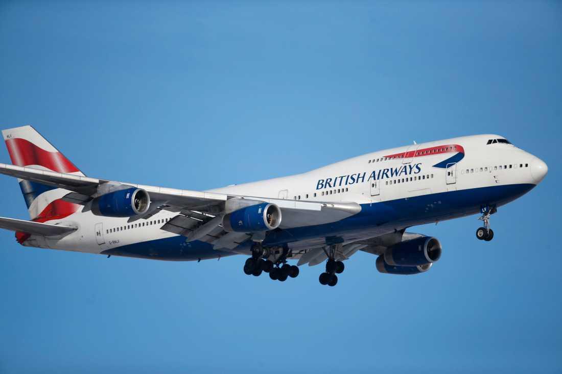 Hon kritiserar flygbolaget.