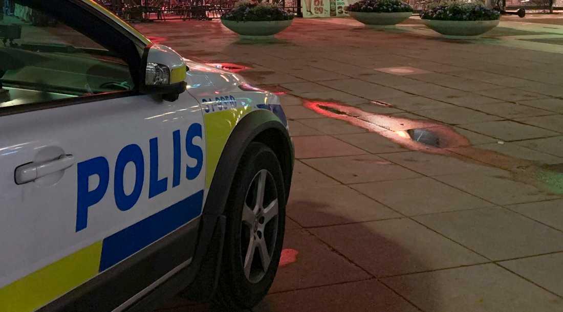 En man har gripits på en restaurang i Stockholm, misstänkt för att ha våldtagit en kvinna. Arkivbild.
