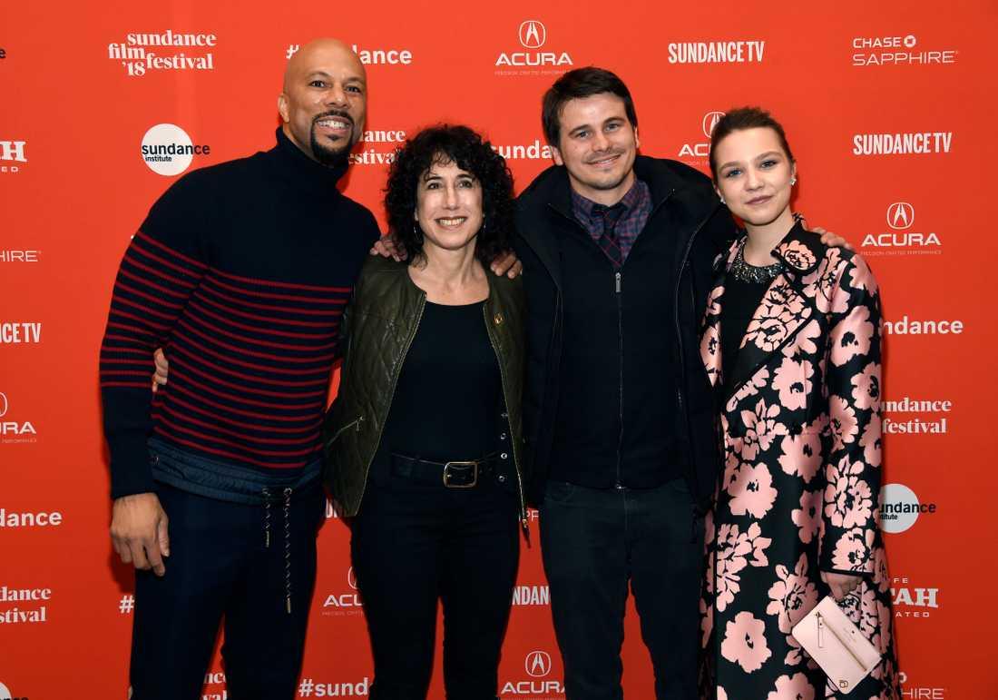 Jennifer Fox,  tillsammans med Common, Jason Ritter och Isabelle Nelisse.