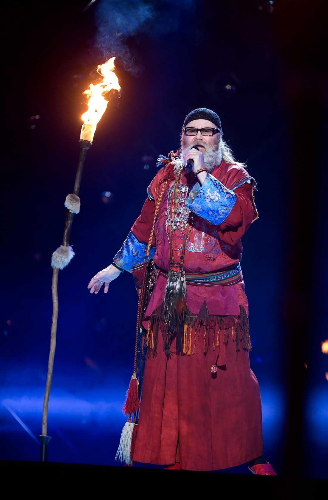 Roger Pontare i Melodifestivalen 2017