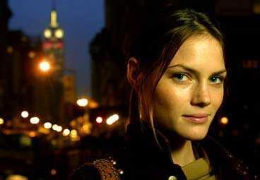 LIDINGÖTJEJEN I NY ROLL 26-åriga modellen Mini Andén blir programledare.