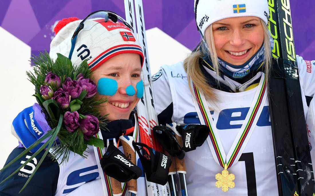 Fossesholm och Frida Karlsson på U23-VM