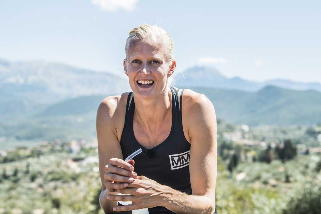 """""""För mig var idrotten en frizon"""", säger Carolina Klüft."""