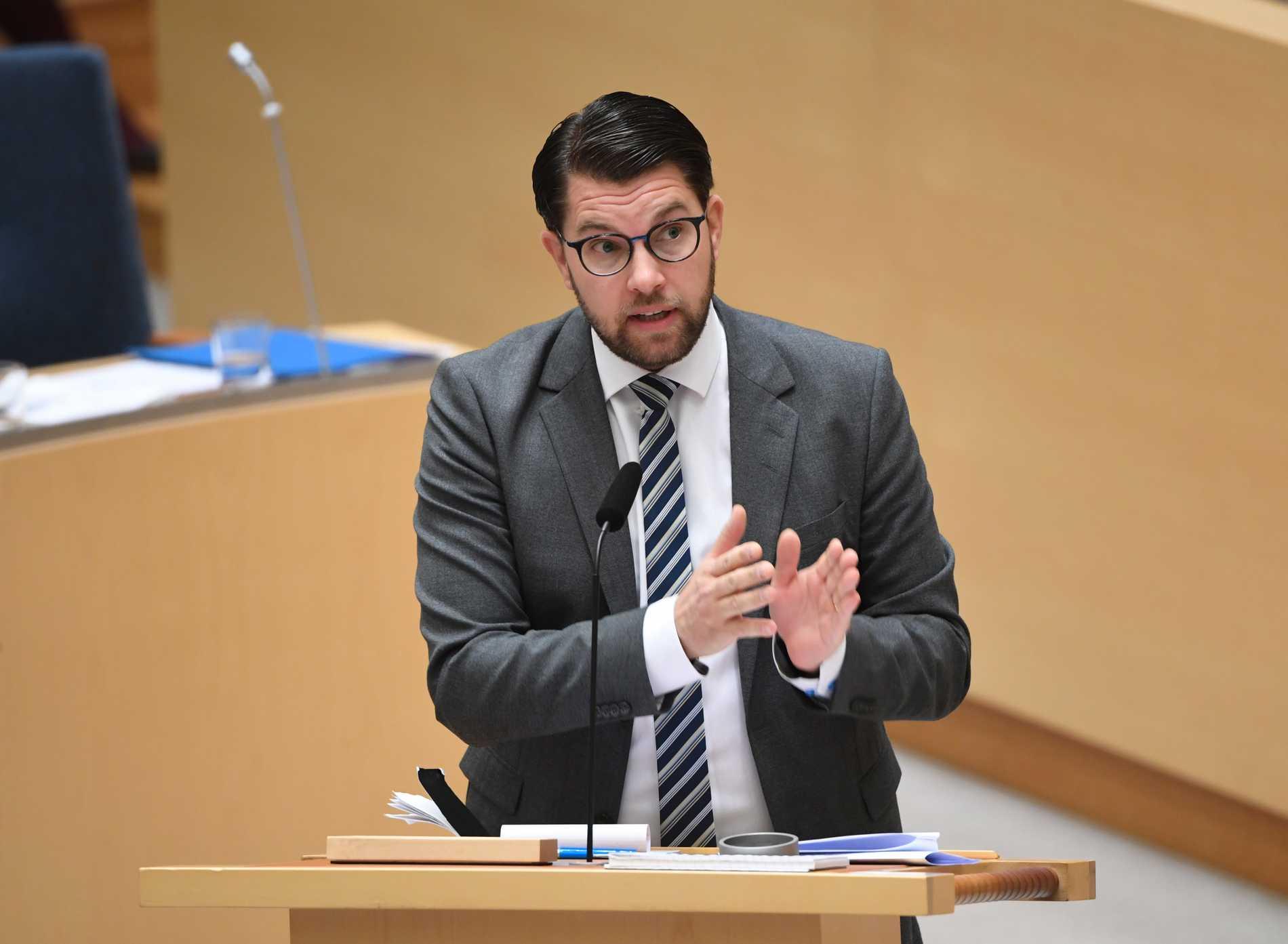 Åkesson beklagar att stöd saknas