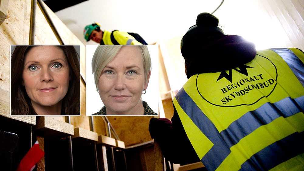 En del partier vill utreda de regionala skyddsombuden, trots att två statliga utredningar kommit fram till att de utgör en viktig resurs i arbetsmiljöarbetet. Andra partier som SD vill avskaffa de regionala skyddsombuden helt, skriver arbetsmarknadsminister Eva Nordmark (S) och Anna Johansson (S).