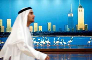 Dubai är ett av de sju Arabemiraten, landet lever på sina oljetillgångar.