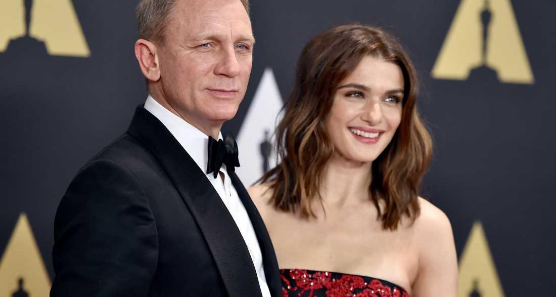 Daniel Craig och Rachel Weisz har blivit föräldrar.