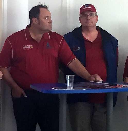 Brent Lilley och Fred Crews.