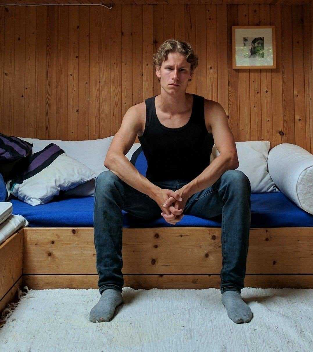 Philip Manshaus, 21, misstänks för att ha mördat sin styvsyster innan han gick till attack mot moskén i norska Bærum.
