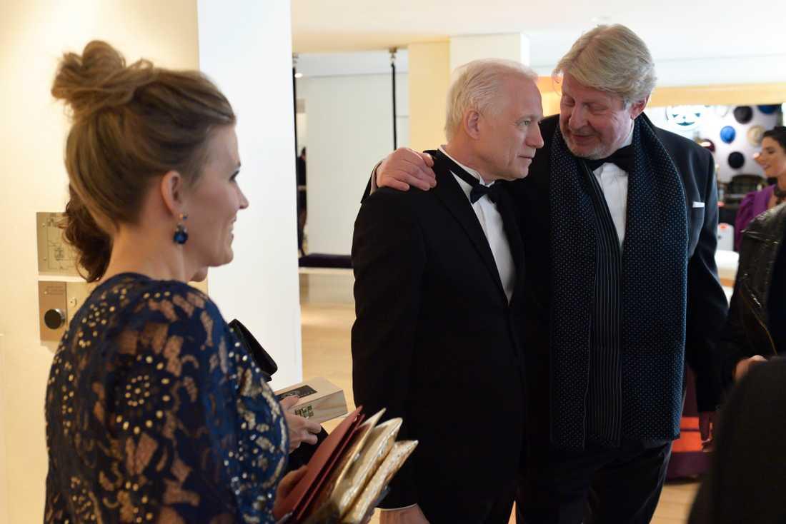 Rolf Lassgård och Hannes Holm.