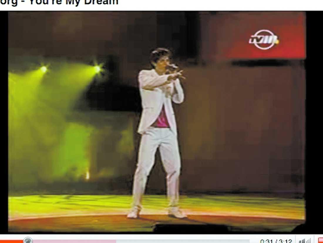 Redan 2006 var Kevin med i Melodifestivalen på Malta. Den gången kom han åtta.