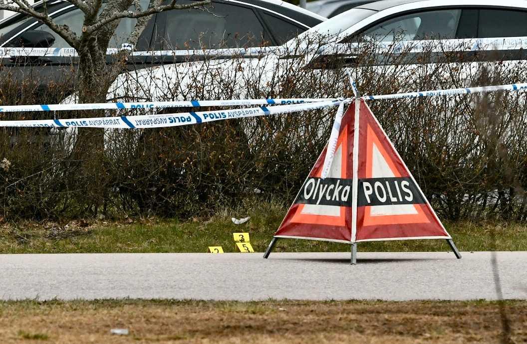 Det var även en skottlossning mot en villa i Västerås i april 2018.