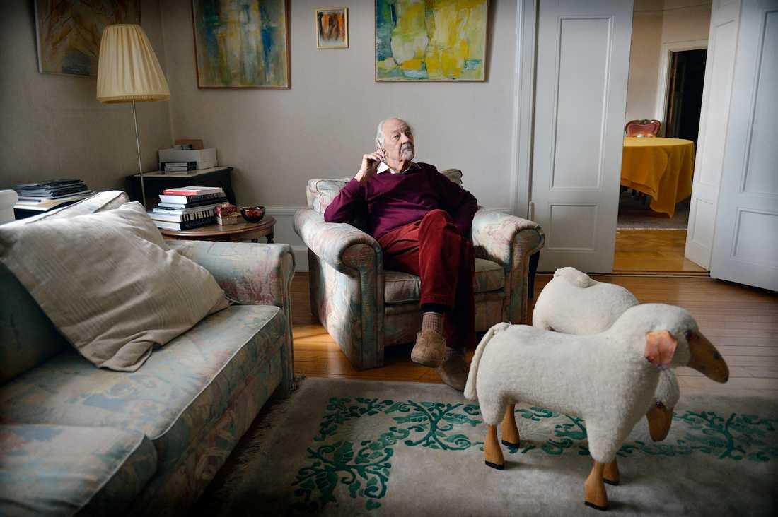Lennart Hellsing i april 2015. Foto: ANDREAS BARDELL