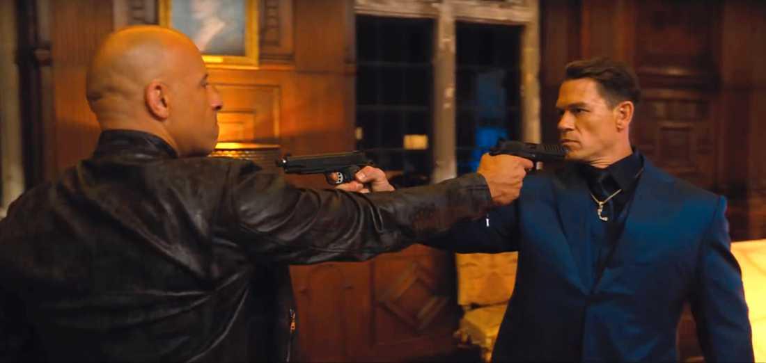 """Vin Diesel och John Cena i """"Fast & furious 9""""."""