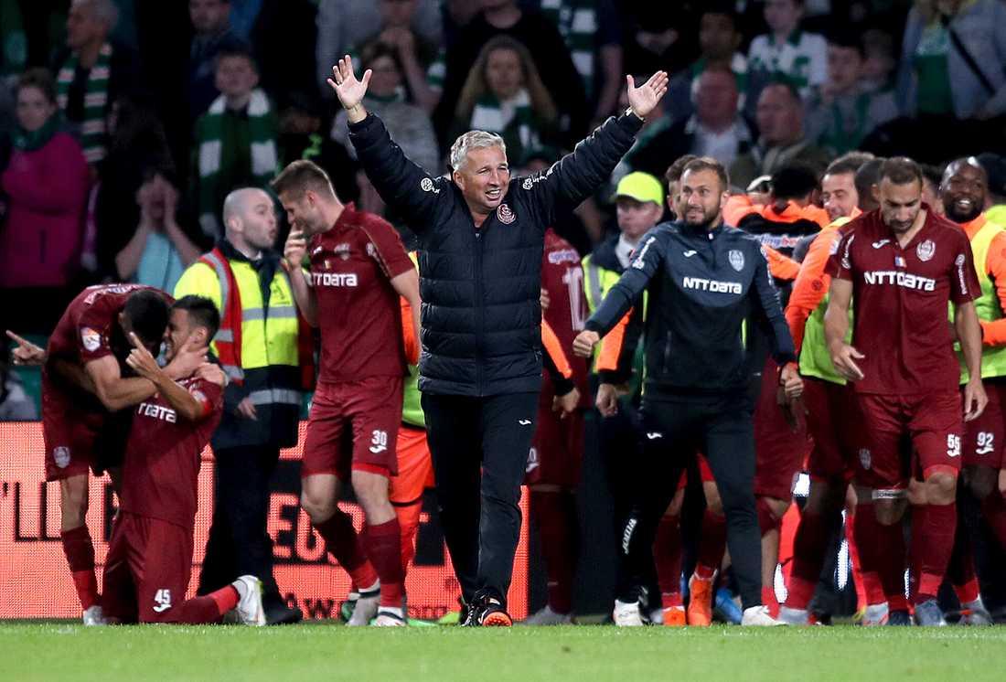 Cluj slog ut Celtic.
