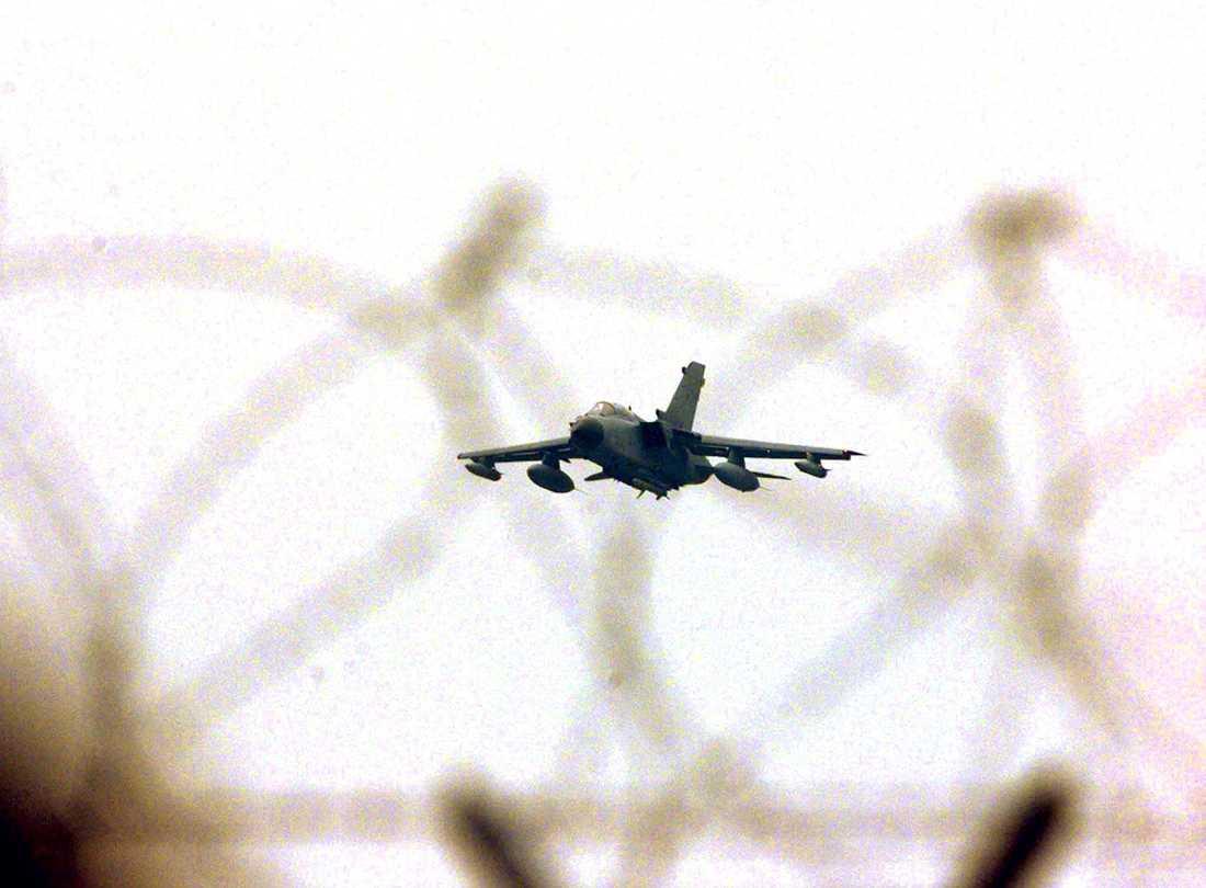 Ett plan av typen Tornado kraschade i Jemen förra veckan. Arkivbild. ´