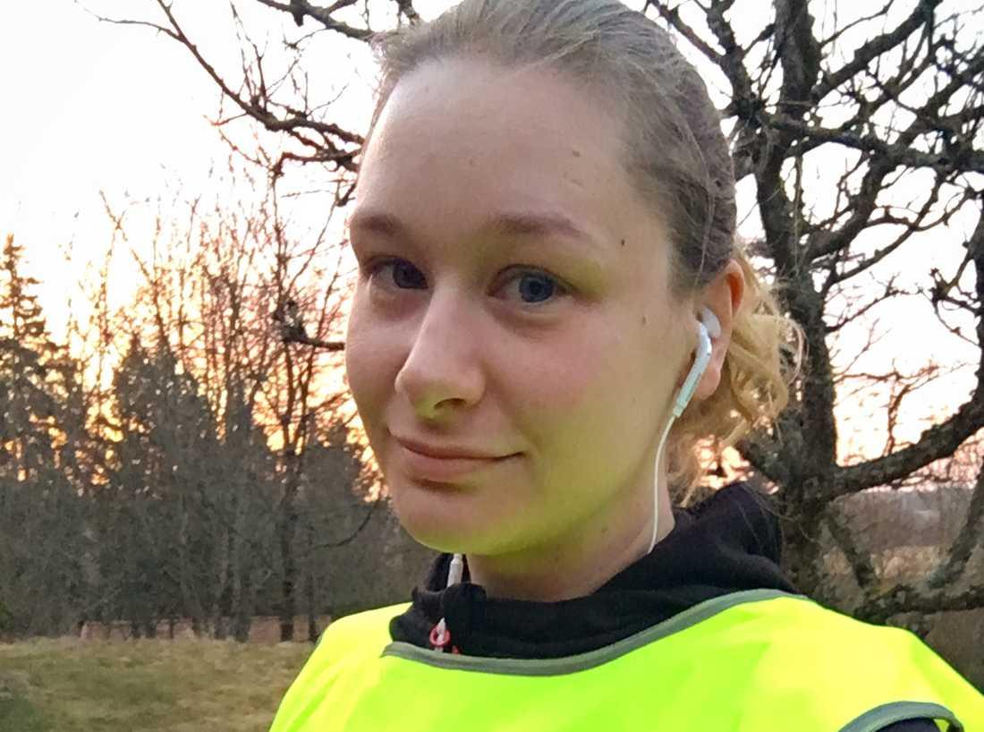 Charlotte Palmquist, 31, är en av alla kvinnor som i maj ska springa Vårruset.