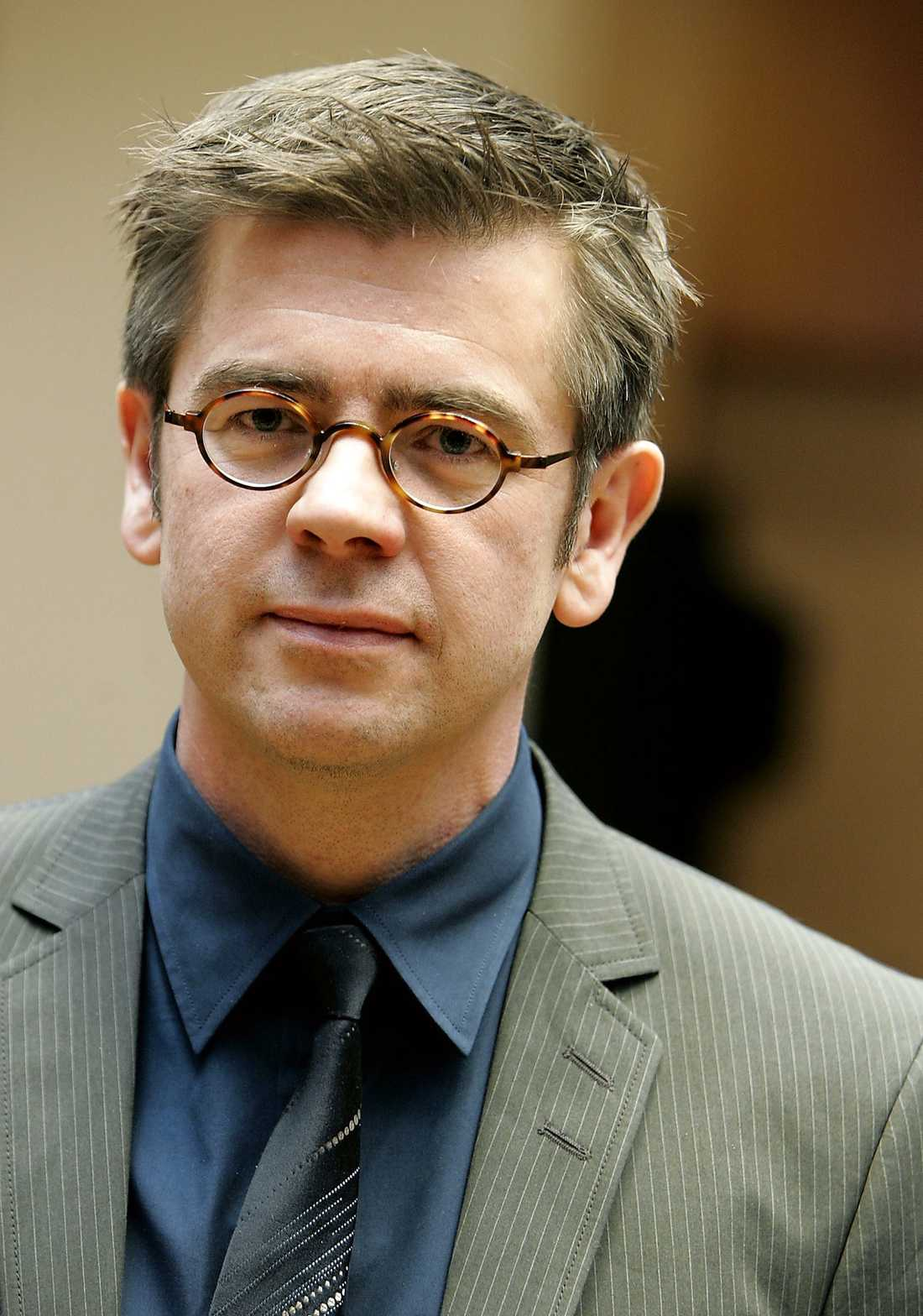 Lars Arrhenius, ordförande i Ecpat.
