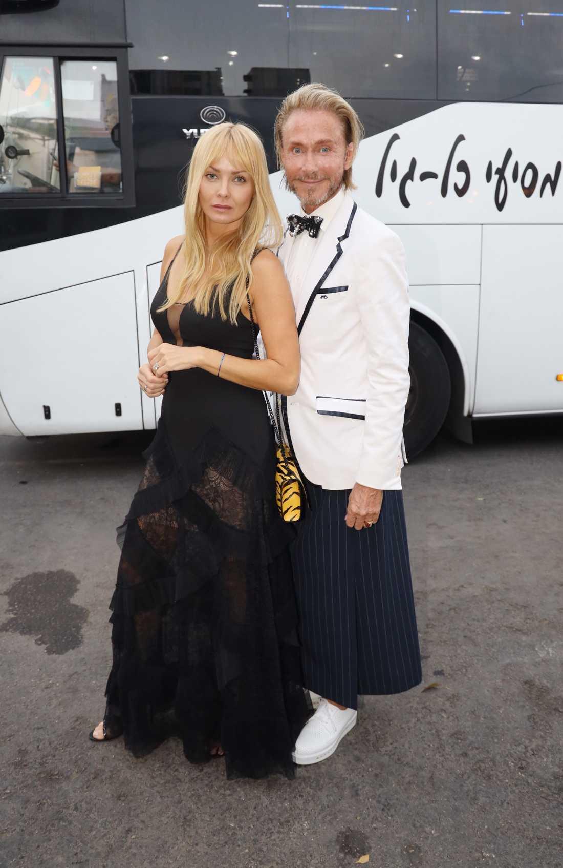 Christer Lindarw och Izabella Scorupco.