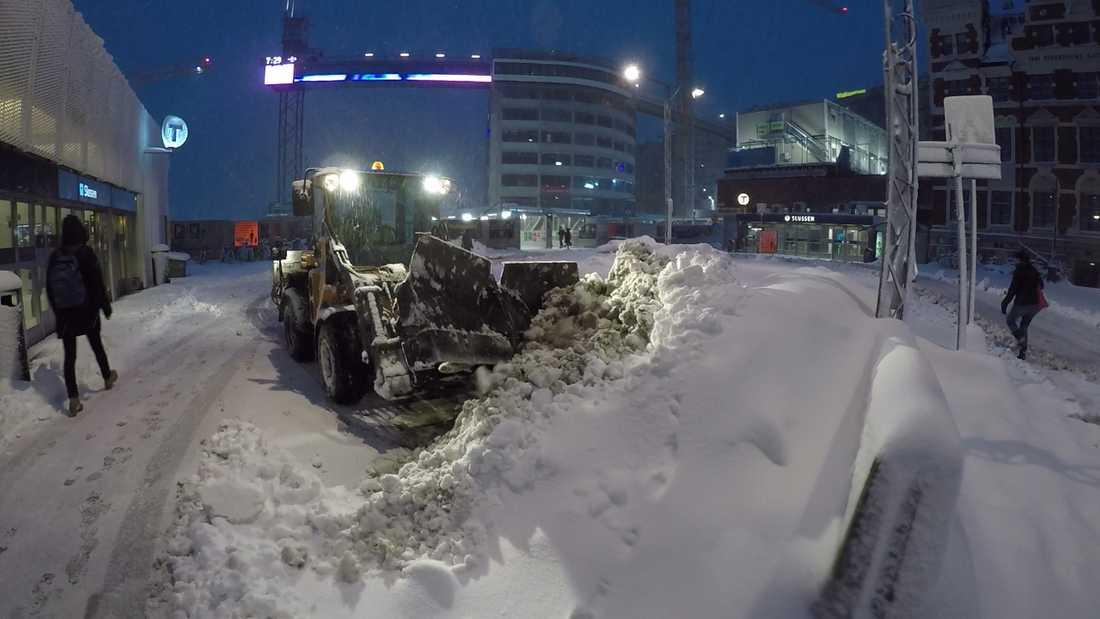 Stockholms stads trafikkontor har granskat fordonens rutter via GPS, och funnit att fordon inte har varit där de ska vara. Arkivbild.