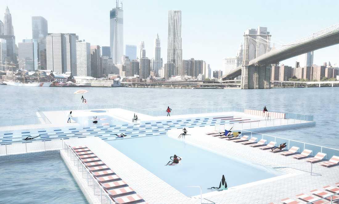 I 9 år har +Pool velat bygga poolen.