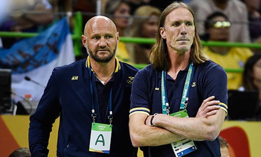 Ola Lindgren och Staffan Olsson under OS i Rio