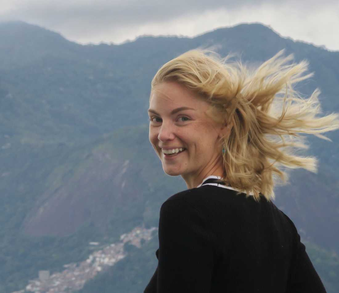 Evelina i brasilianska Rio de Janeiro.