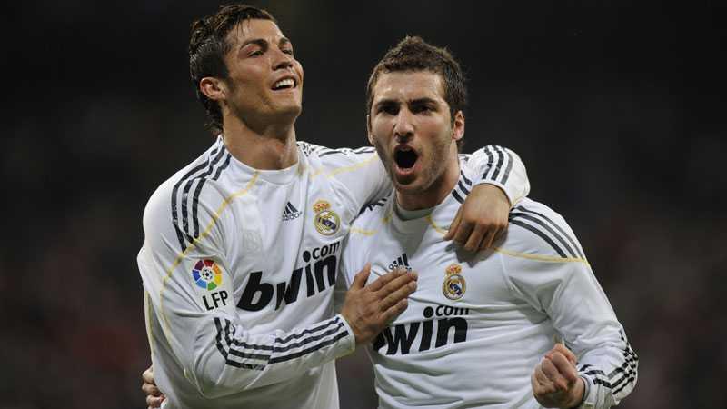 Cristiano Ronaldo och Gonzalo Higuaín fick jubla flera gånger i kväll.