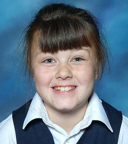Shannon Mathews, 9.
