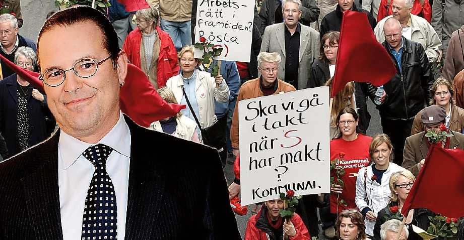 Sagoberättare Anders Borg plockar politiska poäng på sin förmåga att berätta  moraliska historier. Den ekonomiska politiken är mindre viktig. (Bilden är ett montage.)