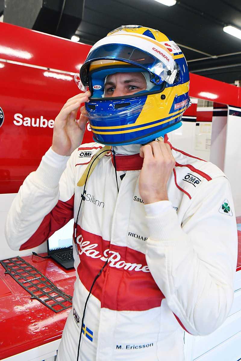Marcus Ericsson - redo för F1-säsong nummer fem