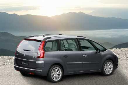 På tredje plats Citroën C4 Picasso - familjebil nummer två i listan.