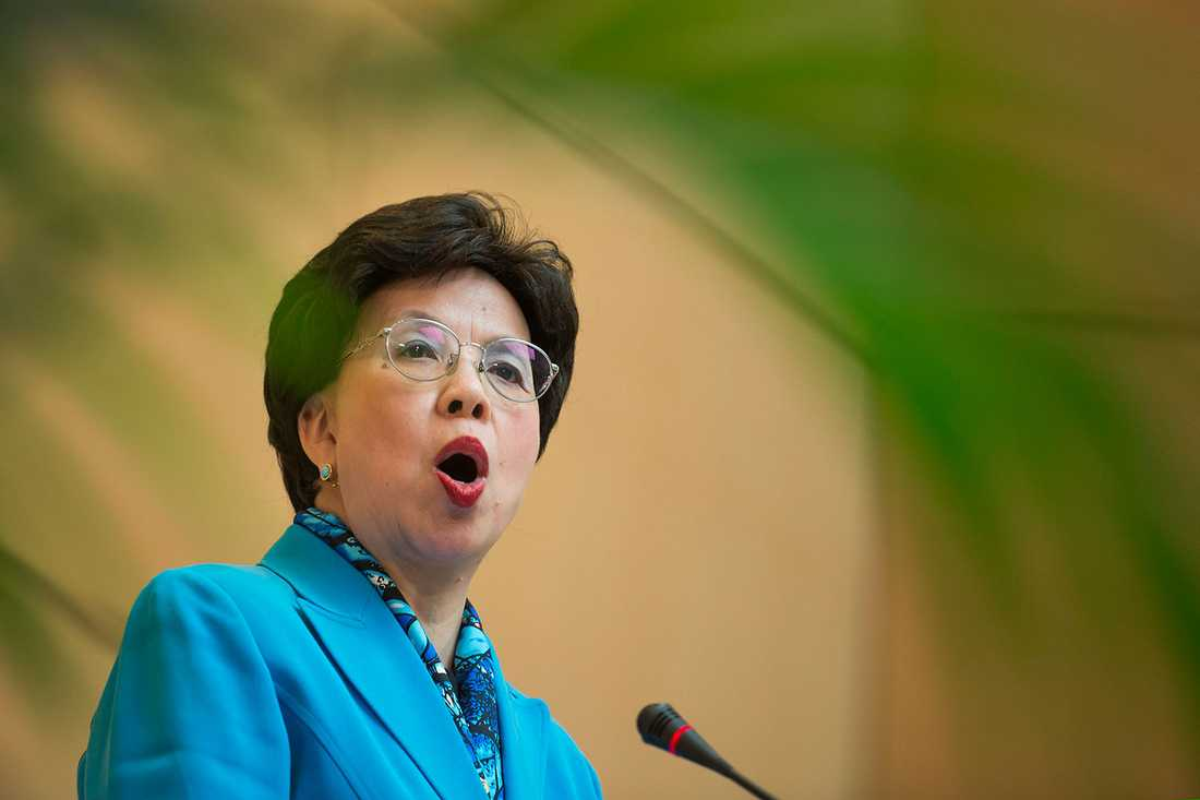 WHO-chefen Margaret Chan.