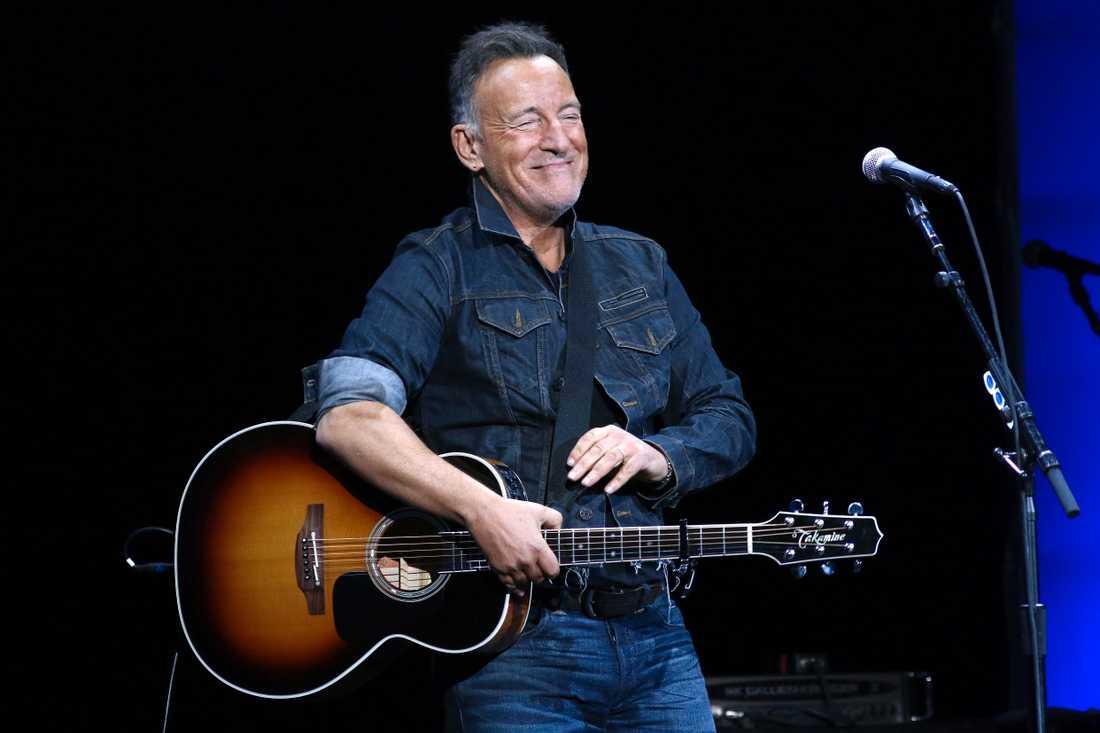 """Bruce Springsteens nya album """"Letter to you"""" kniper förstaplatsen på veckans albumlista. Arkivbild."""