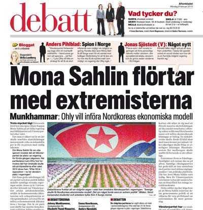 Aftonbladet 8 februari.