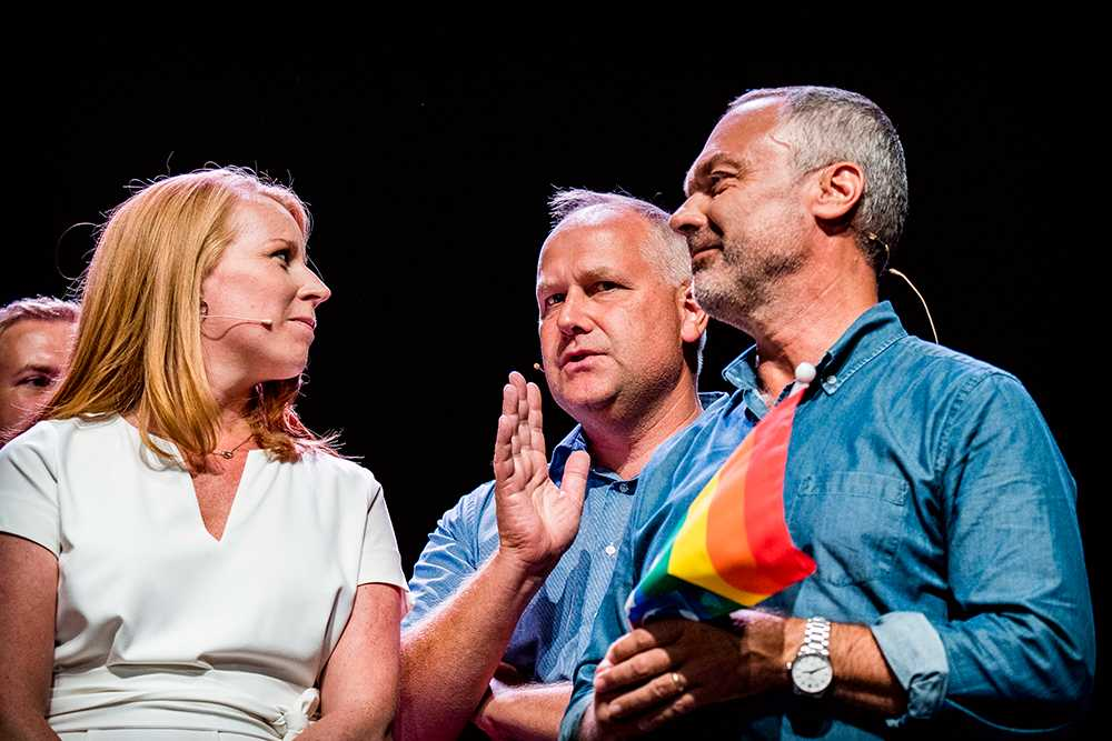 Annie Lööf, Jonas Sjöstedt, Jan Björklund