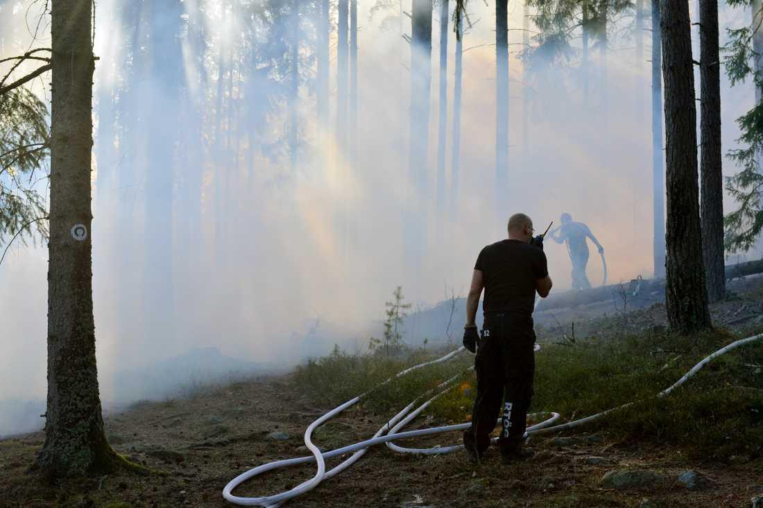 Branden i Norrköping.