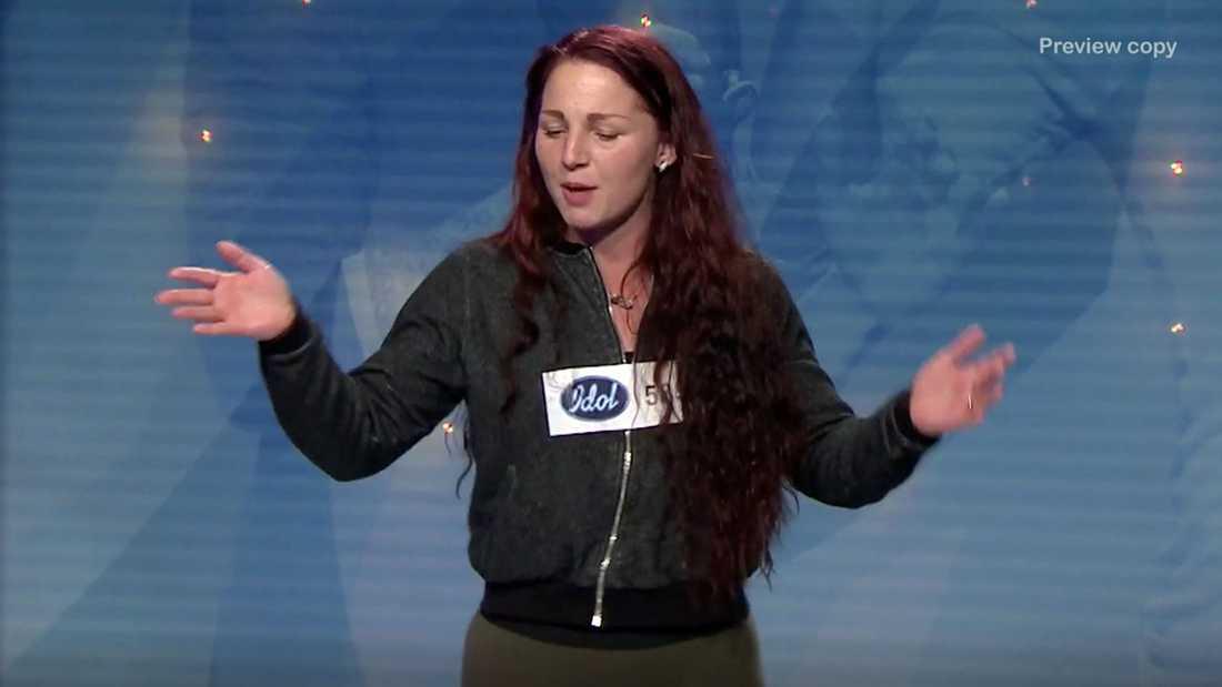 """Zabrina Byrne i """"Idol""""."""