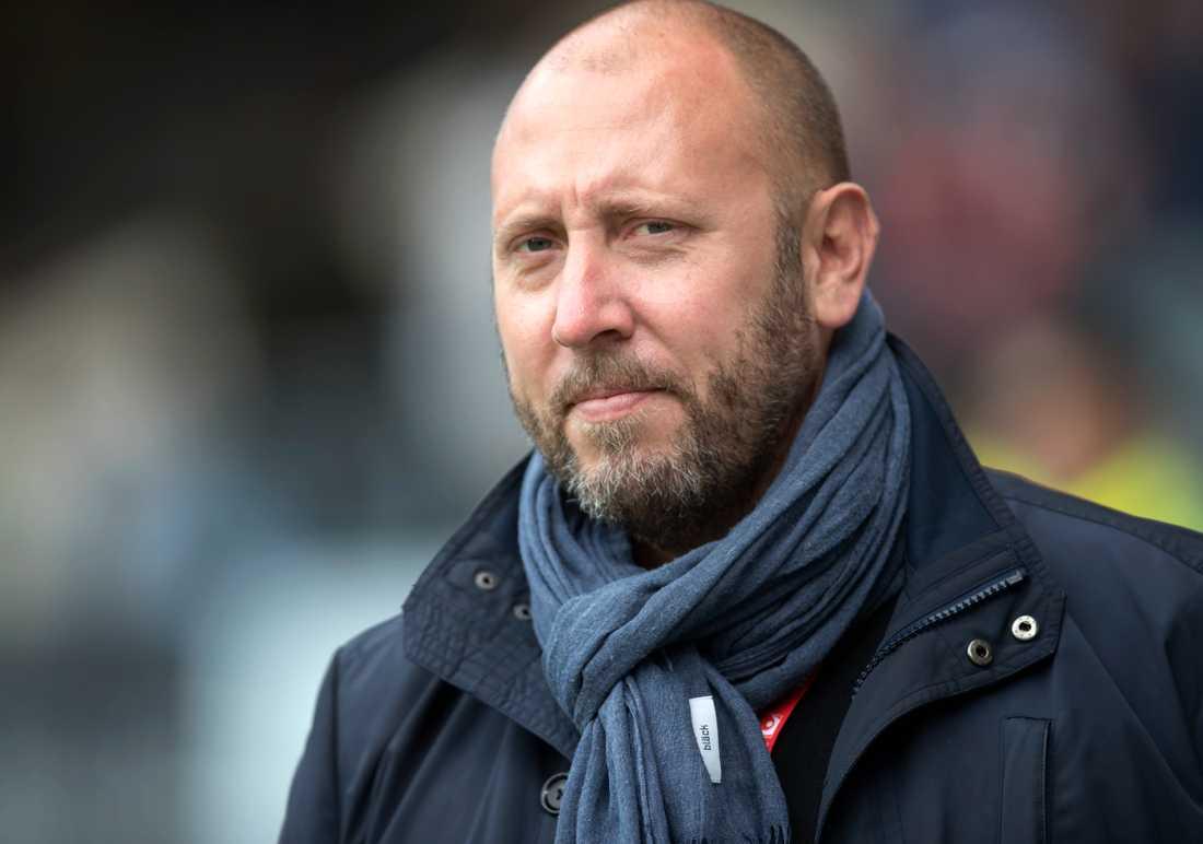 Max Markusson är klubbdirektör i IFK Göteborg, som precis som övriga allsvenska klubbar har en utmanande tid rent ekonomiskt framför sig. Arkivbild