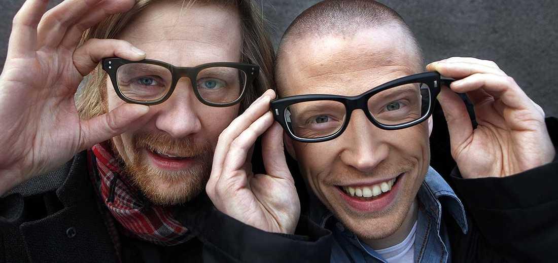 """Anders Johansson och Måns Nilsson gör """"Så funkar det"""" tillsammans."""