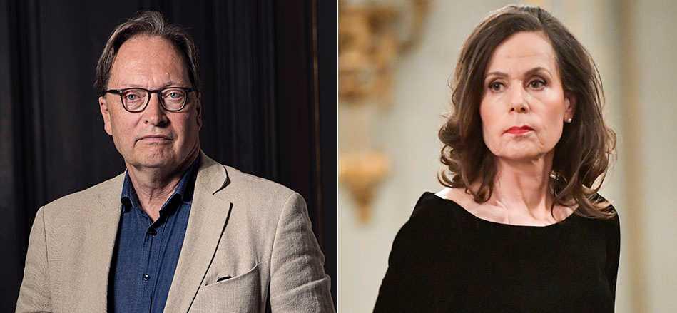 Horace Engdahls artikel i Expressen var ett försök till palatskupp mot Sara Danius, skriver Åsa Linderborg.
