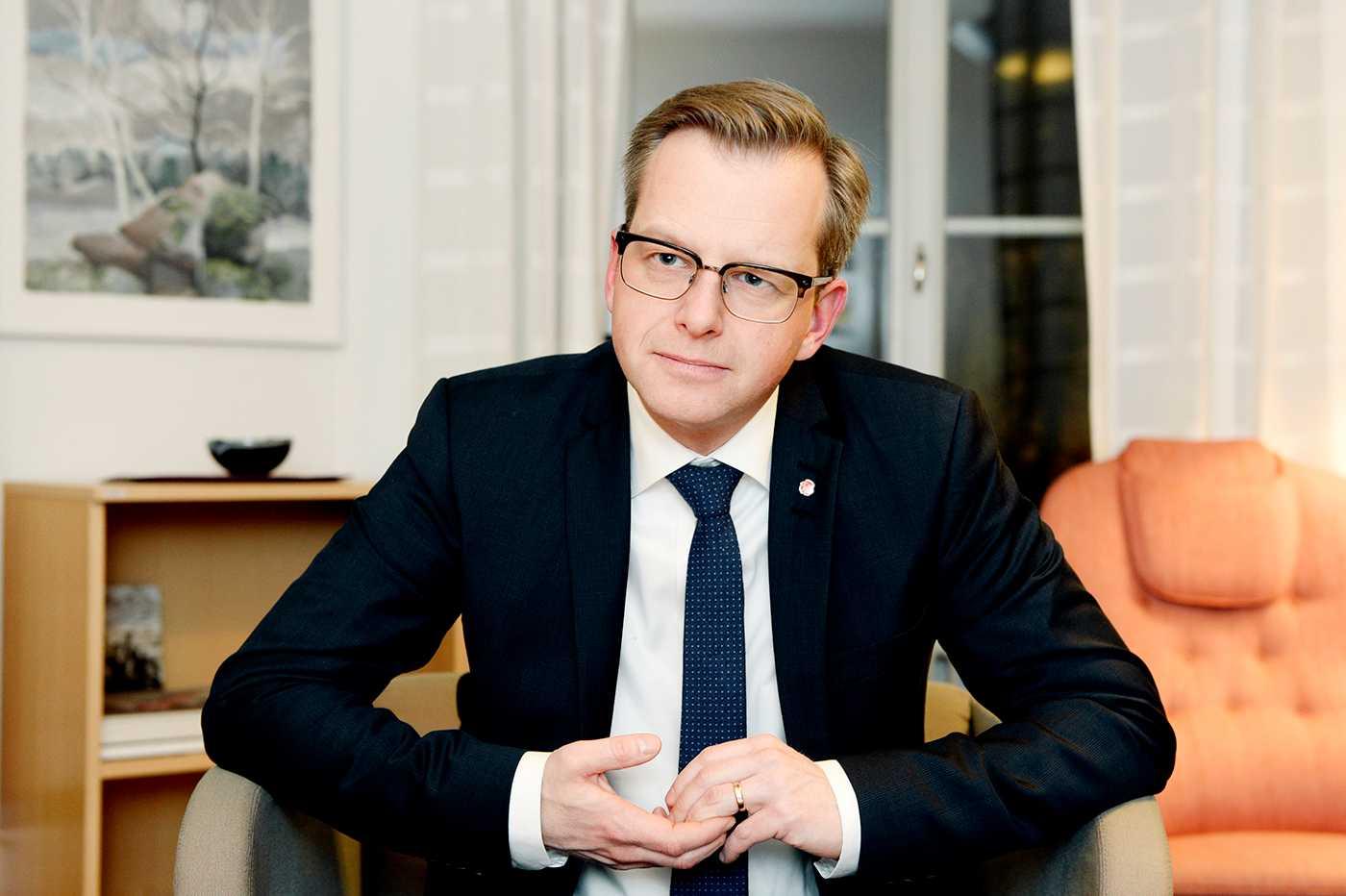 Mikael Damberg (S).