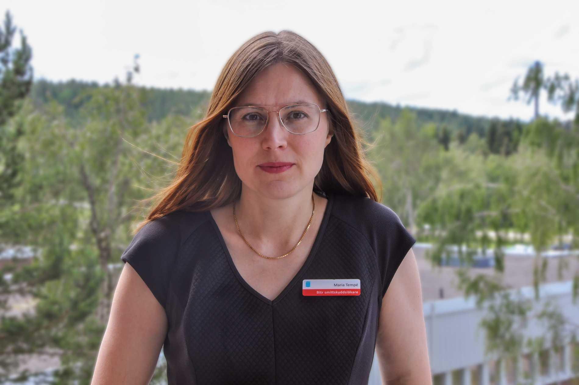 Maria Tempé, biträdande smittskyddsläkare i Västernorrland.