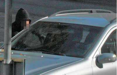 Polisen misstänker att mannen på bilden är den anhållne 22-åringen.