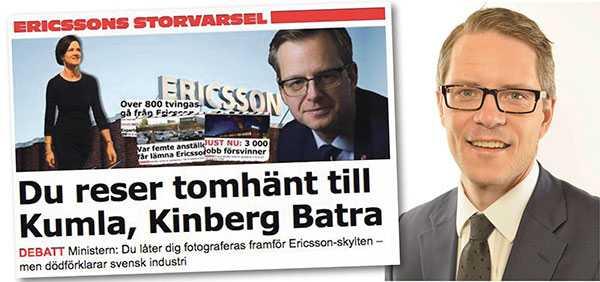Dambergs utfästelser klingar falskt, skriver Lars Hjälmered.